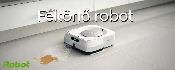 Feltörlő robot