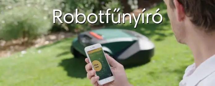 Robotfűnyíró