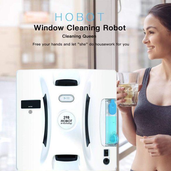 HOBOT 298 Ablaktisztító robot