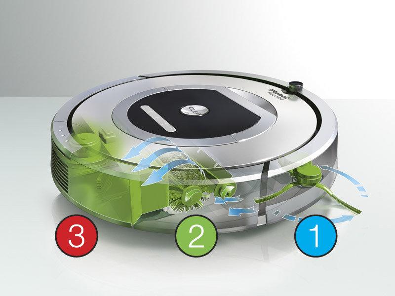 Milyen tisztító eszközöket használ a Roomba?