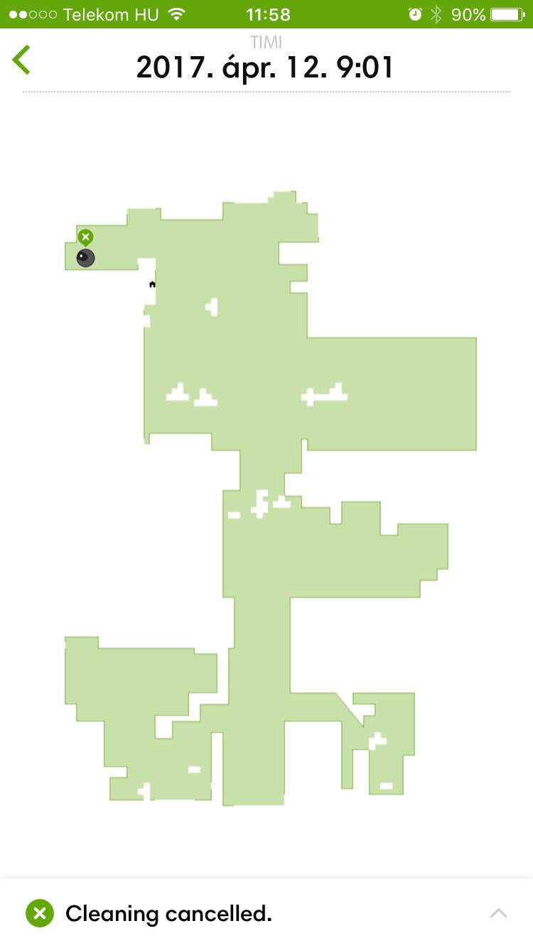 Nagyon sok bútorzat egy lakásban(térkép)