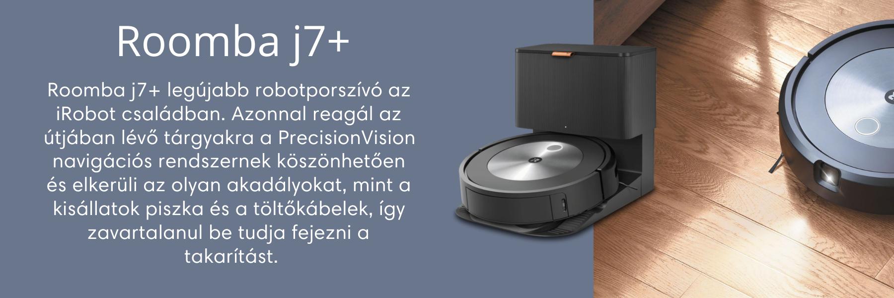 iRobot Roomba j7+ robotporszívó