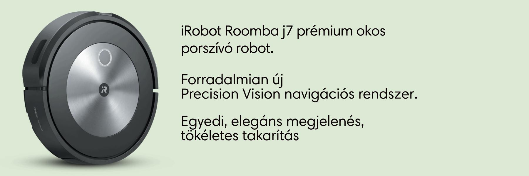 iRobot Roomba j7 robotporszívó